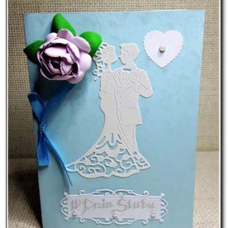 Kartki okazjonalne- Ślub