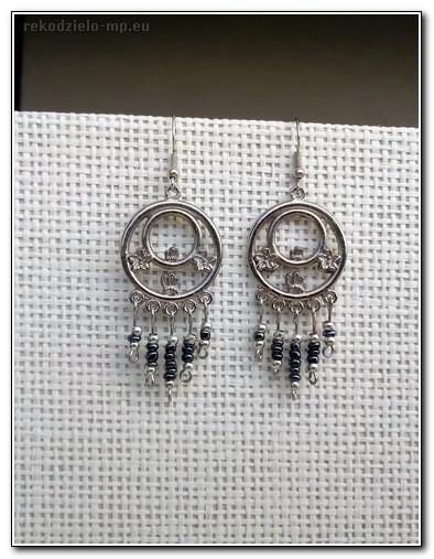 5fca8ead4c0 Rękodzieło, biżuteria artystyczna- kolczyki indyjskie